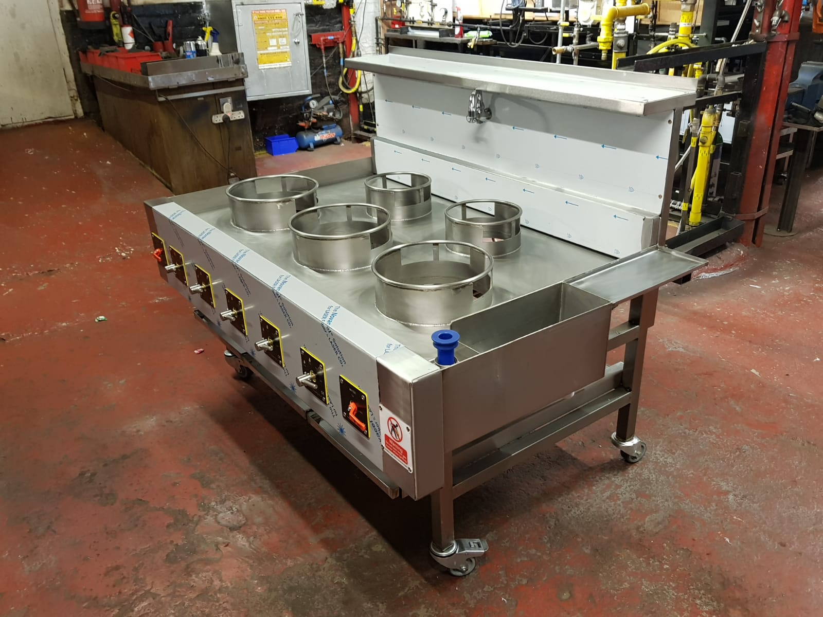 5 Burner Chinese / Thai Wok Cooker