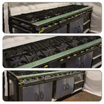 Collage of 12 Burner Cooker