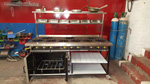 9 Burner Solid Top Cooker