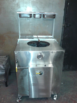 Tandoori Oven with Spice Rack